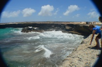Beach and Cliffs, Aruba National Park