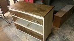 Oak Modern Dresser - Contrast