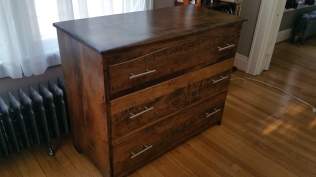 Oak Modern Dresser -Sealed and ready