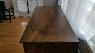 Oak Modern Dresser -Final top