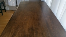 Oak Modern Dresser - top
